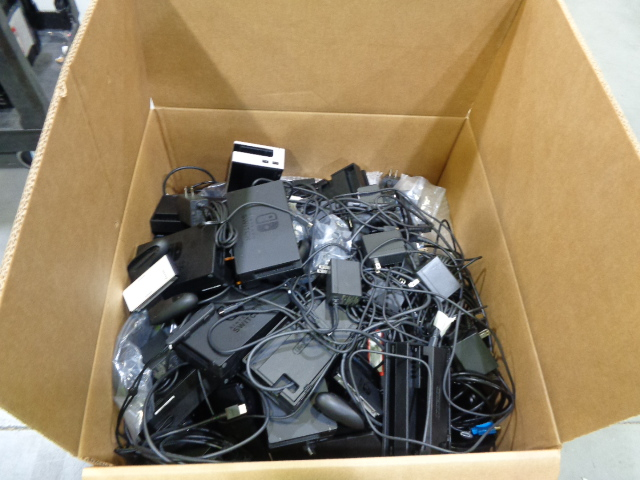 Misc. Gaming Cords & More SALVAGE