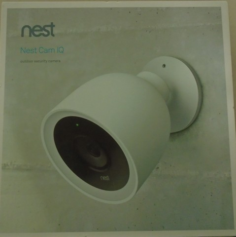 Google - Nest Cam IQ Outdoor Security Camera - Wh
