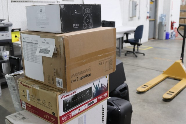 Various Home Audio Equipment - Used