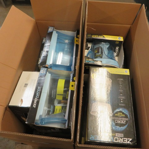 Various ZeroWater Pitchers and Filters - New