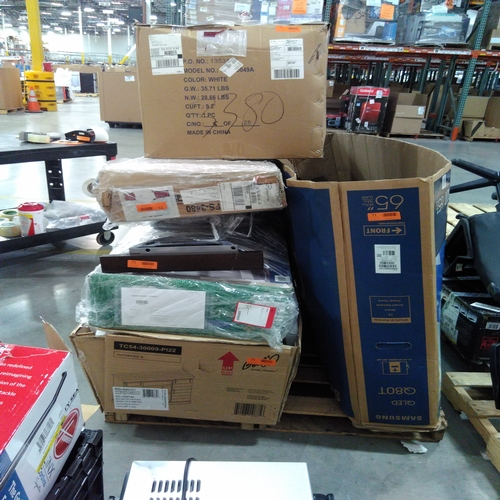untested wall mounts and furniture - returns