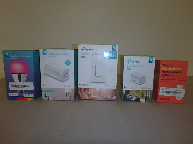 Various Smart Home Accessories - New