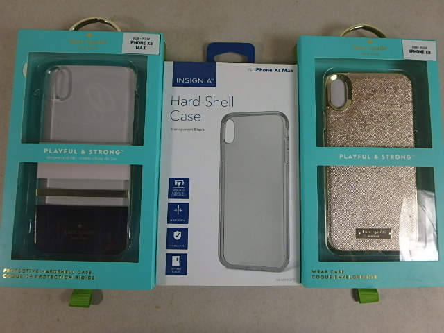 Various Cases for Apple iPhone X/XS - New