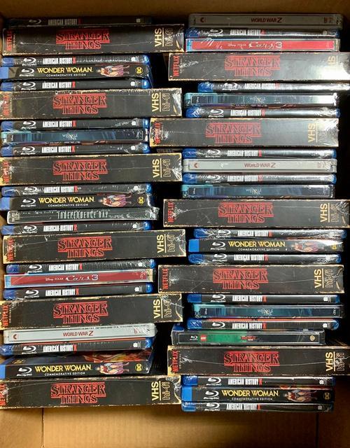 100 New Blu-Rays & DVD Movies
