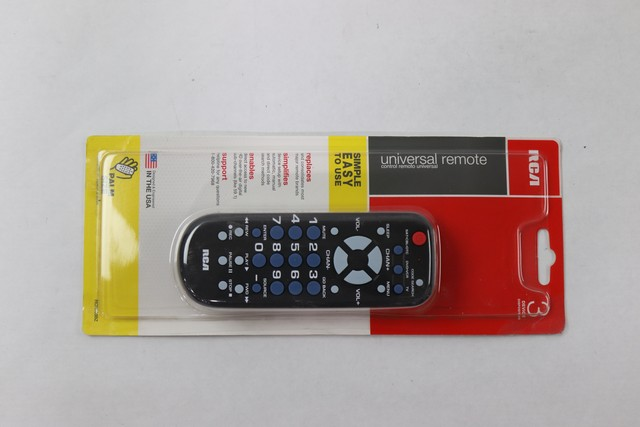 RCA 3-Device Universal Remotes - New