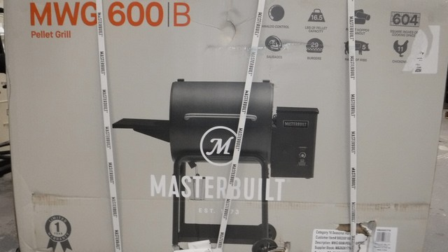 Masterbuilt MWG600B Pellet Grill and Smoker - New