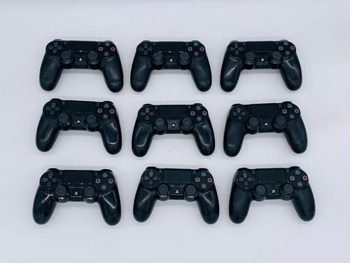 Sony PS4 Jet Black Gaming Controllers