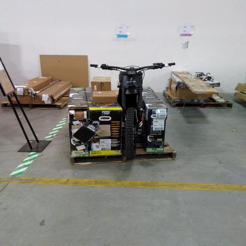 Arcade Games & Segway Dirt Bike - RETURNS
