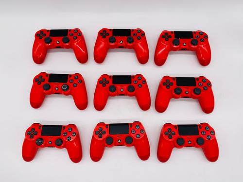 Sony PS4 Magma Red Gaming Controllers