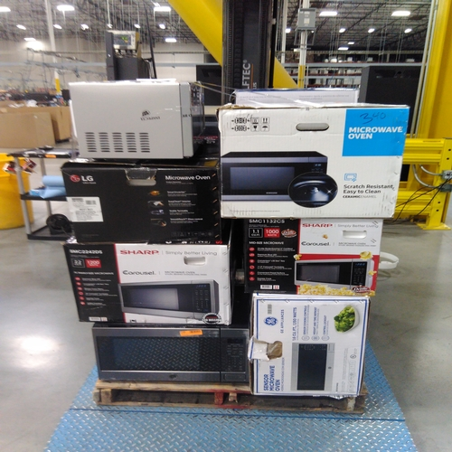 Large Microwaves Returns