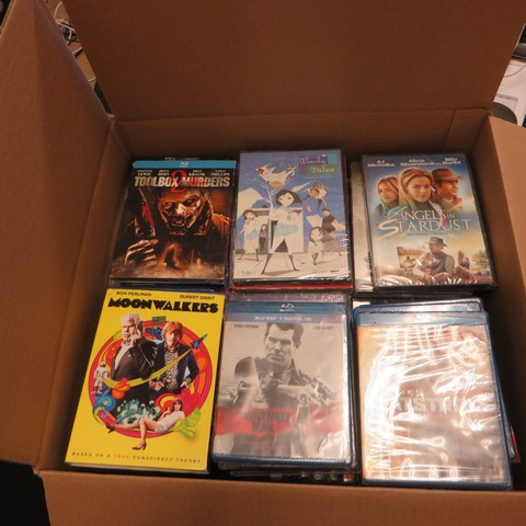 Blu-ray and DVD Movies - New